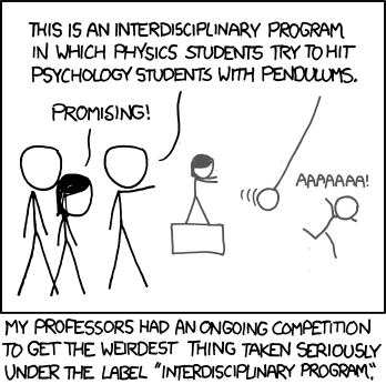 xkcd: Interdisciplinary