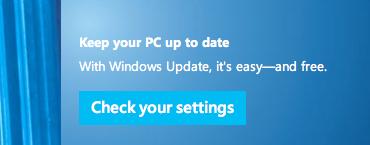 Update Internet Explorer today